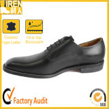 Durable Genuine Leather Black Men Dress Shoes