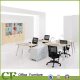 CF Modern Furniture Office Multifunctional Wooden Table 4 Seats Workstation