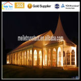 High Peak Nigeria Africa Transparent Party Wedding 15X20m Transparent Roof Wedding Guangzhou Beautiful Mobile Clear Span Tent