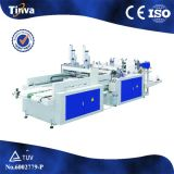 Rfhq Two Lines Printing Hot Sealing and Hot Cutting T-Shirt Bag Sealing and Cutting Machine
