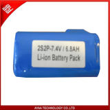 for Sumsung 18650 7.4V 6800mAh Li-ion Battery Pack