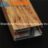 Wood Grain Transfer Aluminum Extrusion for Door and Window Frame