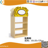 Wooden Children Shelf for Kindergarten Toys Cabinet