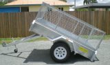 7X4 Galvanized Box Trailer