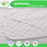 "Fitted Quilted Mattress Pad -Stretches to 18"" Deep"
