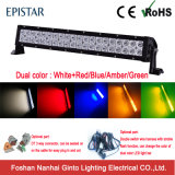 Great Performance Amber and White LED Car Light Bar for Offroad (GT31001-dual color)