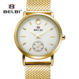 Belbi Men′s Thin Models of Business Watches Waterproof Alloy Watch