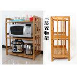 Storage Shelf Storage Rack Bamboo Microwave Oven Rack