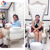 Salon Beauty White Massage SPA Foot Basin Manicure Pedicure Chair