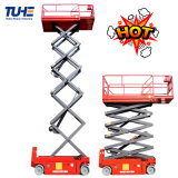 6m 8m 12m 14m 16m 18m Mini Mobile Self Propelled Hydraulic One Man Lift Table Small Used Battery Aerial Working Platform Electric Scissor Lift