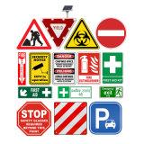 Custom Aluminum Composite Safety Warning LED Solar Road Triangle Round Square Reflection Traffic Sign