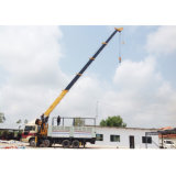 Best Seller Good Quality Mobile Pickup Hydraulic Arm Lift Mounted Truck Crane with Basket for Sale