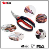 "Cookware 9.25"" Kitchen Utensil Poultry Scissors with Plastic Handle (SSS032)"