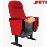Jy-605m VIP Brand Indoor Upholstery 3D Cheap Price Outdoor Folding Plastic Used Metal Padeed Movable Auditorium Theater Chair