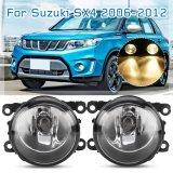 Car Styling Front Fog Lamps LED Fog Lights W/ Wiring H11 Bulbs for Suzuki Sx4 Grand Vitara 2006 2007 2008 2009 2010 2011 2012