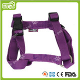 Fashion Purple Chest Strap Pet Product Dog Callor&Leash