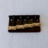 Sell Black Color 4 String Bass Bridge with Brass Saddles