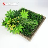 High Simulated Earth Friendly Fresh PE Green Wall Art for Decoration