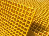"""Industrial FRP Grating 1-1/2"""" Thick, 1-1/2"""" Square Mesh"""