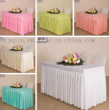 Custom Polyester Hotel Banquet Wedding Meeting Table Cloth Cover Tablecloth