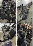 Black Shampoo Chair Unit with Ceramic Basin for Salon Equipment