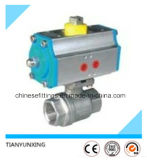 Stainless Steel Electrical Motor Pneumatic Female Threaded Ball Valve