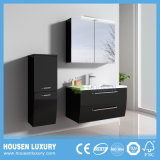 LED Golden Code European Radiance Double Drawer PVC Bathroom Vanity (HS-Q1104-900)