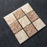 3D High Definition Decorative Carpet Tiles with Golden Decoration Floor Ceramic (300 X 300 mm)