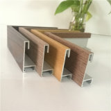 Aluminum Wood Veneer Surface Profile for Picture Frame From Foshan Factory