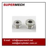 Tank Hexagonal with Side Plug Head Flange Face Pipe Plug Oil Plug with O Ring Seals