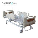 Sk021 China Wholesale Durable Three Function Manual Hospital Bed