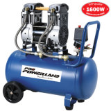 1.6 Kw 50L Oil Free Silent Piston Air Compressor Rotary High Pressure Dental Noiseless Oil-Less Portable Mute AC Cooper Motor Oil-Free 25L 2HP Ce Approved Pump