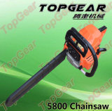China High Quality Gasoline 5800 Chainsaw/58cc Chain Saw