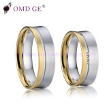 Pair of Wedding Rings in Classic Yellow Gold