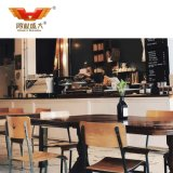 Wholesale Solid Wood Restaurant Table Chair Cafe Furniture Set