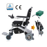 New EThrone! TUV Ce approved 8inch 12inch Competitive Price Lightweight Disabled Foldable Power Electric Wheelchair (ET-12FF)