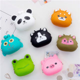 Mini Zero Wallet Soft Face Buckle Female Coin Bag Cartoon Silicone Hand Zero Wallet