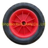 Hand Trolley Wheel PU Tire 3.00-4 Wheel with Plastic Rim