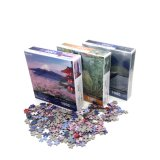 Custom 1000 Piece Education Toy Paper Adult 3D Puzzl Games Manufacture Company Jigsaw Puzzle