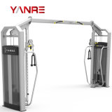 Commercial Gym Fitness Equipment Strength Machine Body Building Adjustable Crossover Cable Machine