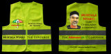Custom Logo Election Campaign Reflective Safety Vest
