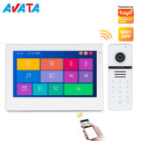 "Tuya WiFi/IP Memory 7"" Home Security Video Doorbell HD Video Doorphone with IPS Screen"