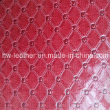 PVC Leather Fabric for KTV Decoration Hw-875