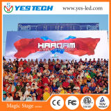 500X500mm Cabinet High Brightness Full Color Outdoor LED Screen Panel