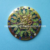 Souvenir Brass Coin with Crystal (Ele-C022)