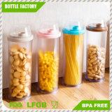 3 L Clear Kitchen Round Transparent Plastic Food Containers/PS Storage Container