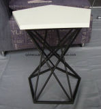 Creative Office Pentagram Sitting Room Sofa Wholesale Tea Table Contracted Manufacturers Custom-Made Metal Tea Table (M-X3317)