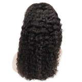 Wholesale Price Water Wave Natural Color Human Hair Full Lace Wigs