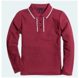 Wholesale Polo Neck Long Sleeve T Shirt Long Sleeve Polo Shirt