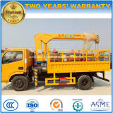 Dongfeng 3tons Lorry Truck Mounted with Staight Arm Crane for Sale